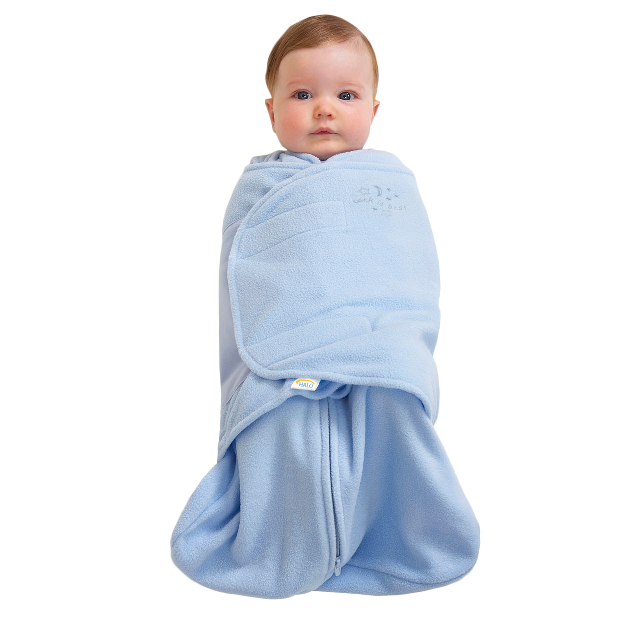 Halo 174 Sleepsack 174 Swaddle Micro Fleece Blue