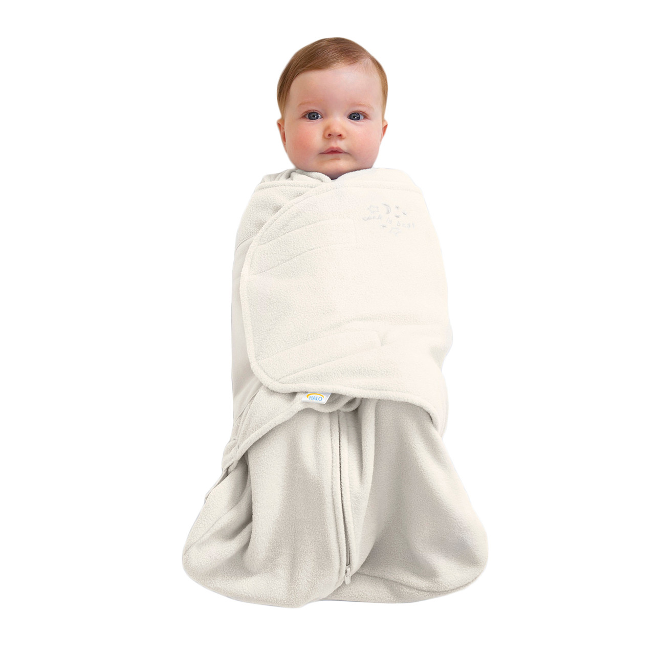 the latest 88208 e301b HALO® SleepSack® swaddle Micro-Fleece | Cream