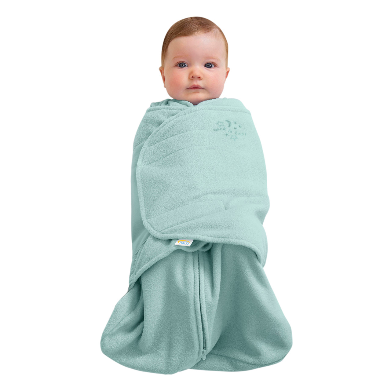 4833fd65e4 Microfleece SleepSack Swaddle - HALO Wearable Blanket