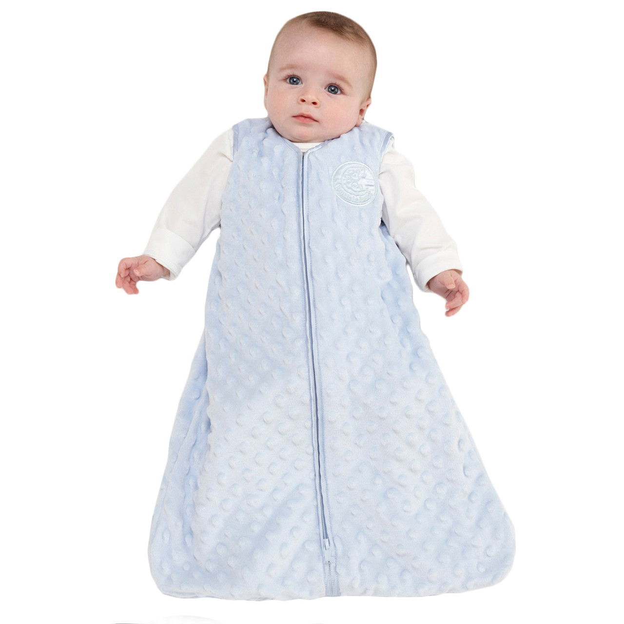 d8bbb60065 HALO® SleepSack® wearable blanketPlushy Dot VelboaBlue