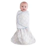 HALO® SleepSack® swaddle 100% Cotton Muslin  | Alligator Blue