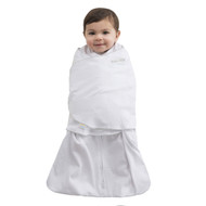 HALO® SleepSack® swaddle 100% Cotton  | Gray Pin Dot