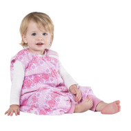HALO® SleepSack® Early Walker Micro-Fleece  |  Pink Butterfly Ombre