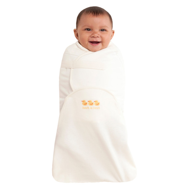 100 Cotton Swaddlesure Adjustable Swaddling Pouch Halo