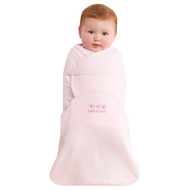 HALO® SwaddleSure® adjustable swaddling pouch  100% Cotton  |  Pink