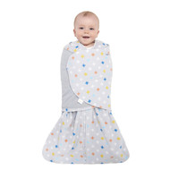 HALO® SleepSack® Swaddle Micro-Fleece  |  Multicolored Plus Signs