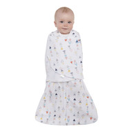 HALO® SleepSack® Swaddle 100% Cotton  |  Multi Color Triangle