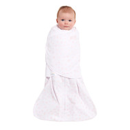 HALO® SleepSack® swaddle platinum 100% Cotton  |  Blush Twinkle