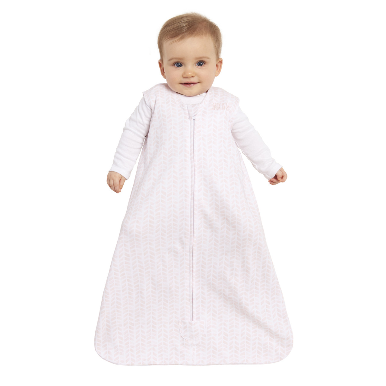 HALO® SleepSack® wearable blanket platinum100% CottonBlush Chevron 42ccd3f39