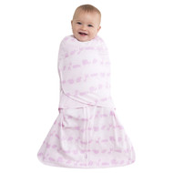 HALO® SleepSack® swaddle 100% Cotton  |  Pink Linear Jungle Animal