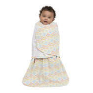 HALO® SleepSack® swaddle Micro-Fleece  |  Multi Diamond