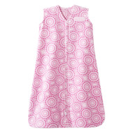 HALO® SleepSack® wearable blanket Micro-Fleece  | Pink Petal Swirl