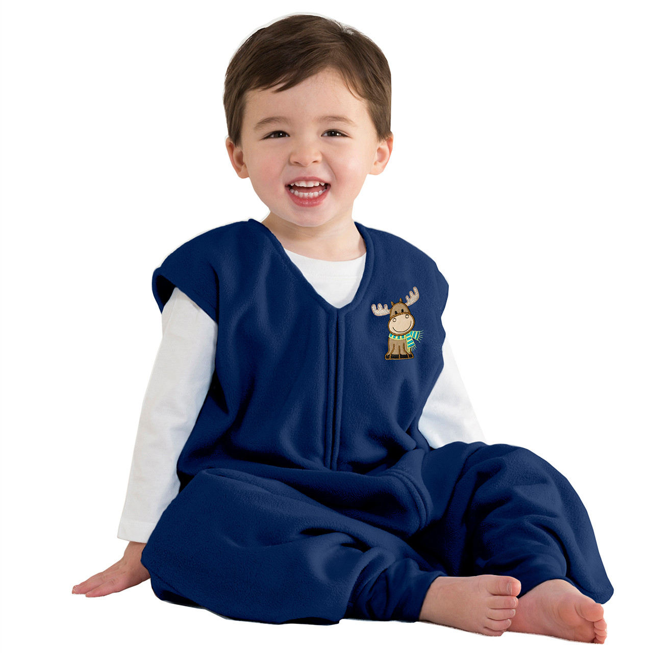Blue Moose HALO Big Kids Sleepsack Micro Fleece Wearable Blanket 4-5T