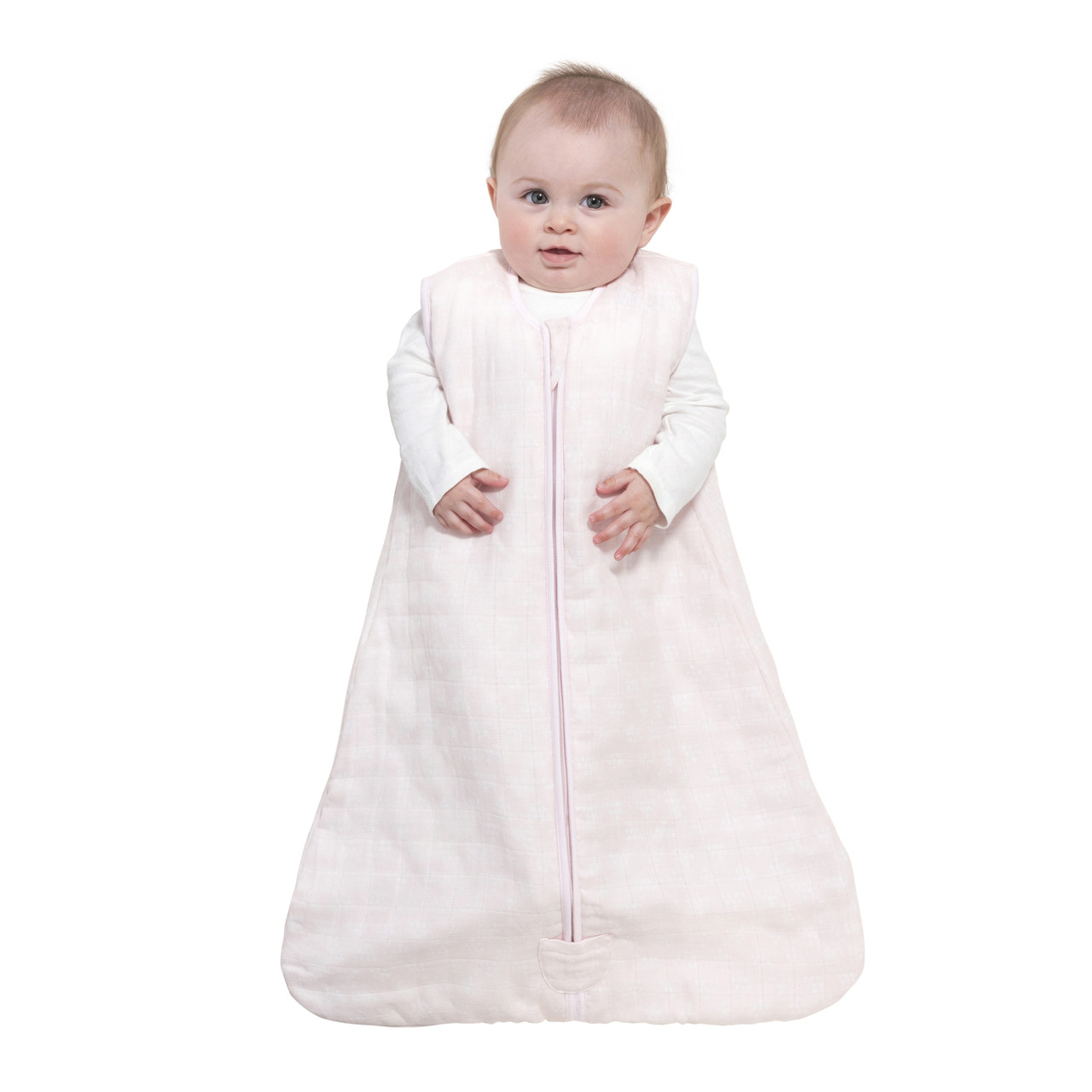 HALO® SleepSack® wearable blanket platinum quilted muslinRose Sketch Pyramid 00af936e2