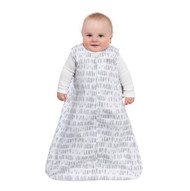 HALO® SleepSack® wearable blanket 100% Cotton  |  Grey Squares & Triangles