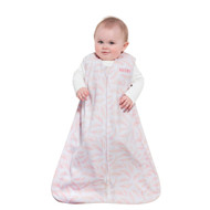 HALO® SleepSack® wearable blanket Micro-Fleece  |  Pink Pine Leaves