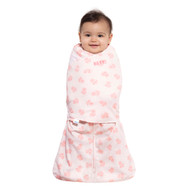 HALO® SleepSack® swaddle 100% Cotton  |  Rose Toss Blush
