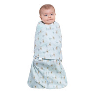 HALO® SleepSack® swaddle 100% Cotton  |  Baby Blue Bunnies