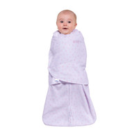HALO® SleepSack® swaddle Micro-Fleece  |  Pink Mini Hearts