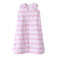 HALO® SleepSack® wearable blanket 100% Cotton  |  Linear Jungle Pink