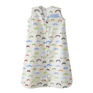 HALO® SleepSack® wearable blanket 100% Cotton  |  Mustache