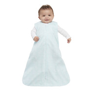 HALO® SleepSack® wearable blanket 100% Cotton  |  Aqua Feather