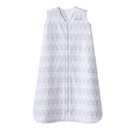 HALO® SleepSack® wearable blanket 100% Cotton  | Grey Stripe Elephant