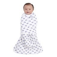 HALO® SleepSack® swaddle 100% Cotton  |  Navy Hedgehog