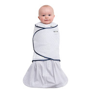 HALO® SleepSack® Swaddle 100% Cotton  | Pin Dot Navy