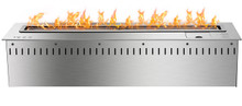 ifire 2000 with remote control  3 flame settings black