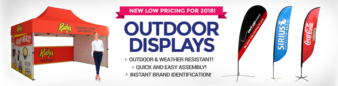 Outdoor Displays and Tents