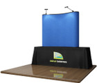 6' EZ Table Top Velcro Trade Show Display - Blue