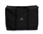 Soft carrying case bundles up the entire display for easy transport to/from trade shows