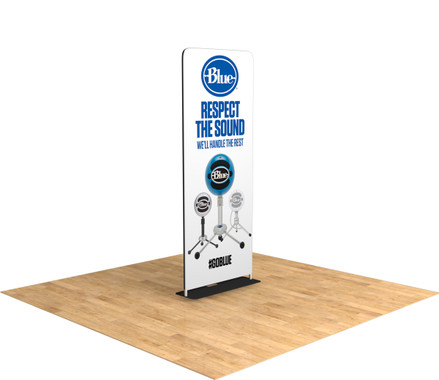 The Tru-Fit Tension Fabric Tru-Stand Trade Show Display (Straight)