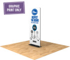 Replacement graphic print for the Tru-Stand trade show display!