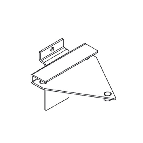Bracket for Acrylic Shelf