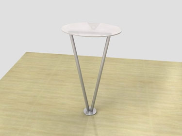 Timberline Acrylic Table