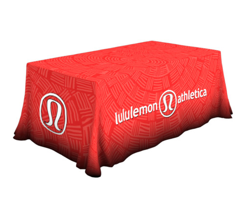 6ft Printed Table Throw