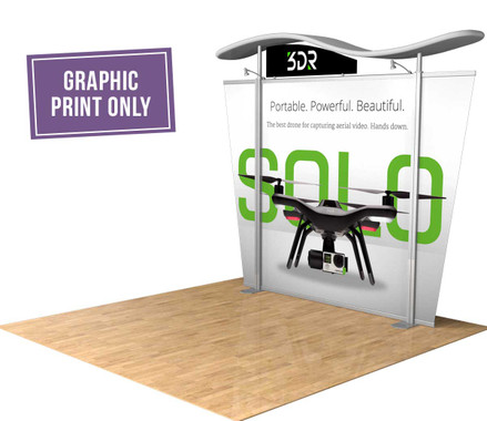 Refresh your existing Hybrid trade show booth with new graphic prints!