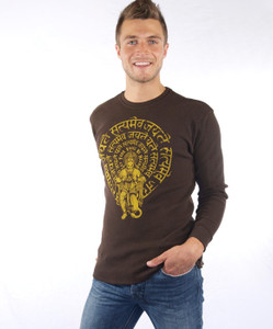 hanuman thermal t shirt