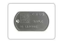 Dog Tag for Industrial Applications
