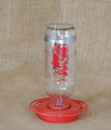 Best-1 32 Ounce Bee Proof Hummingbird Feeder Best One Glass reservoir and easy to clean base
