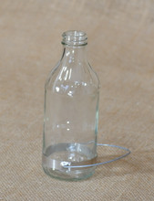 Best-1 Replacement 8 Ounce Glass Hummingbird Feeder Nectar Jar