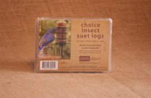 Choice Insect Suet Logs