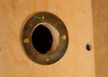 Replacement Metal Birdhouse Entrance Holes