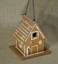 Gingerbread Wren Birdhouse # 111