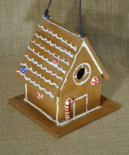 Decorative Gingerbread Wren Birdhouse # 114