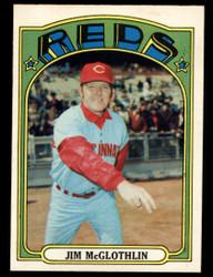 1972 JIM MCGLOTHLIN OPC #236 O PEE CHEE REDS NM #4087