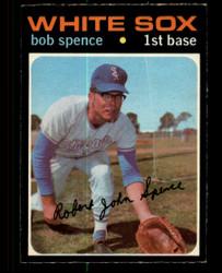 1971 BOB SPENCE OPC #186 O PEE CHEE WHITESOX EX/EXMT #4293