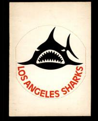1972 LOS ANGELES SHARKS OPC NHL TEAM LOGO O PEE CHEE SP VG #3689